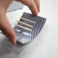 bar magic tricks - Low Price Close Up Magic Incredible Floating Card Stylish Toothpick Match On Card Street Bar Trick