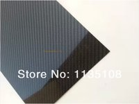 Airplanes Black Bodies 400X500X1.5MM 3K carbon fiber with glass fiber plate panel sheet board x2PCS free shipping