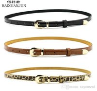 animal print upholstery - 2016 European and American fashion leather leather upholstery thin belt candy colored patent leather women s fashion belt