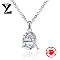 best sterling silver - 925 Sterling Silver Natural Stone Dolphin Designer Pendant AAA Dancing CZ Diamond Pendant for Women Best Friend Personalized Gift NP27430A