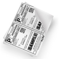Wholesale 2000 Premium Shipping Labels lables Per Sheet x Self Adhesive