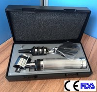Wholesale 2015 hot BST quality ophthalmoscope otoscope sets electric otoscope electric glasses suit