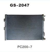 air condition radiator - Komatsu PC200 PC210 Komatsu radiator air conditioner condenser Air Conditioning Condenser air conditioning