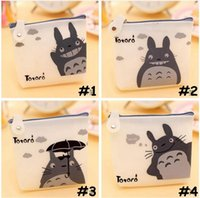 adult business cards - girl Women cute Totoro Coin Purses adult kids Silicone lucency waterproof coin purse Miyazaki purse wallet headset Pouch bags styles