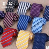 Wholesale Men s Suit Tie Classic Men s Plaid Necktie Formal Wear Business Suit Bowknots Ties Male Cotton Skinny Slim Ties Cravat