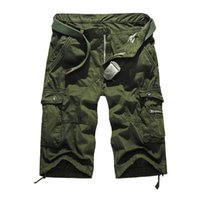 Wholesale Men Cotton Hiking Shorts Military Camouflage Clothes Loose Cargo Shorts Men s Short Outdoor Sport Running Climbing Tactical