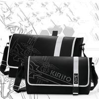 art animations - Japan Anime Sword Art Online Cartoon Animation Cosplay Shoulder Bag SAO Kirigaya Kazuto Messenger Crossbody Bags