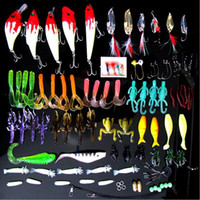 Cheap 100Pcs Lot Mixed 7 Models Fishing Lures Mix Minnow Lure Crank Bait Tackle Isca Artificial Carp Fishing Tackle