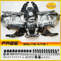 Wholesale Injection Mold Fairing Kit With Tank Cover Fits CBR600 F3 CBR Grey Black B55