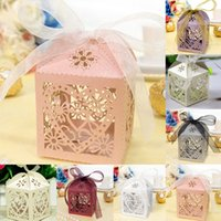 baby carriage favor boxes - Love Heart Party Wedding Hollow Carriage Baby Shower Favors Gifts Candy Boxes Wedding Candy boxes B024