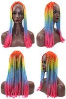 Wholesale 20inch Strands pc Ombre Havana Mambo Twist Crochet Braiding Hair cm Soft Dread Lock Ombre Senegalese Twist Hair Extension