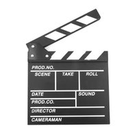 Wholesale Director Video Scene Clapperboard TV Movie Clapper Board Film Slate Cut Prop