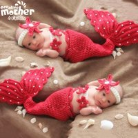 baby fish pictures - baby s photography clothing knit baby pictures mermaid suit infants newborn clothing baby fish style photography props set