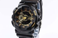 orange red led - New watches men luxury brand GA110 men sports watch men s fashion brand watch digital and analog watches