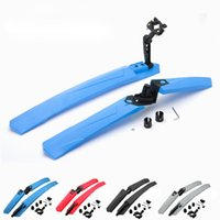 Wholesale Color Mountain MTB Bike Mudguard Front Rear Quick Release Cycling Bicycle Fenders Wings Stand Rack Mud Guard Accessories