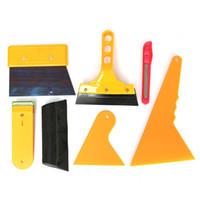 Wholesale 7pcs Car Window Tint Tools Kit Set Fitting For Film Tinting Scraper Application