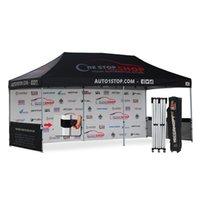 Wholesale AbcCanopy x20 Custom Canopy Tent Custom Printed Trade Show Gazebo Bouns Wheeled Bag