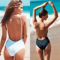 Wholesale Swim Bikinis Set Bikini vrouwen White Black Sexy Swimwear Women s Push up Swimsuit Beach Wear Bikini Nieuwe Collectie