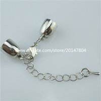 bead chain connectors - 13826 Copper Silver Bell Connector for Necklace Bracelet Jewelry Making