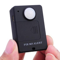 Wholesale PIR MP Alert A9 Wireless Alarm System GSM Personal Auto Tracking Positioning Car Security Alarm Infrared Sensor Alarm Motion Detector