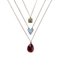 no minimum order - Exclusive Three Layer Necklace Egypt Jewelry No Minimum Order