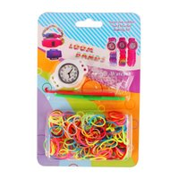 cheap children watches - DIY unfinished Loom bands children gum set bracelet watch creative kids toys cheap bands loom
