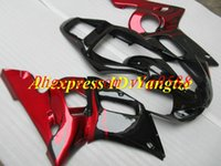 Wholesale 3 Gifts New ABS motorcycle Fairings Kit For YAMAHA YZF R6 YZF600 YZF YZF R6 YZFR6 red and black