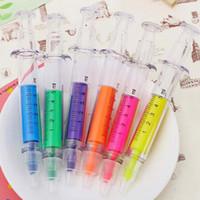 Wholesale 20pcs Cute Novelty Highlighter Colorful Pen Marker Pen Watercolor Pen Creative Stationery Material Escolar