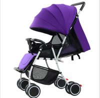 Wholesale Huaying new light baby trolley can be sitting can lie factory direct