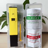 Wholesale Aquarium Digital PH Meter Tester Pocket Pen Hot Sale Water Quality Measure with PH Buffer Powders