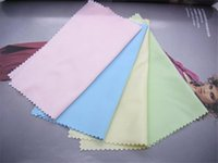 Wholesale Double faced Microfiber Glasses Lens Cloth colors Sunglasses Cleaning Cloth Wiping Cloth Cleanroom Wipper Eyewear Accessories M002