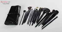 american hot rod - 2016 black rod with horsehair brush set no logo professional hot European and American pop