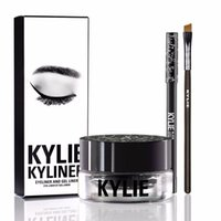 Wholesale Kylie Gel Eyebrow Liner Kit Jenner Kyliner In Black With Eyeliner Gel pot Brush set eyeliner brush cream MR214