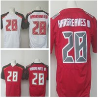 Wholesale 2016 Newest Men s TBB Vernon Hargreaves III White Red Football Jerseys Good Quality