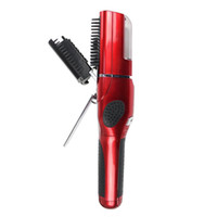 Cheap OEM Professional Cordless End Trimmer Hair Revo Styler Automatic Electric Hair straightning Comb Brush 02