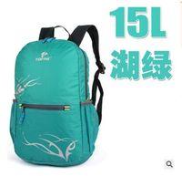 Wholesale 2016 Diaper Bags Outdoor ultra light shoulder bag folding skin pack waterproof nylon backpack gift shopping bags men and women leisure L