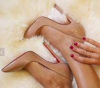 al por mayor sexy high heels-2016 los altos talones atractivos de las mujeres apuntaron los zapatos de la oficina de las bombas del dedo del pie el zapato del partido del stiletto de la manera el alto 12cm