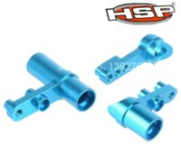 aluminium car parts - HSP Baja Aluminium Steering Servo Saver Complete Parts Upgrade for th RC Car CNC XSTR POWER