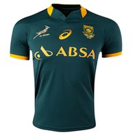 Wholesale 2015 South Africa Rugby Jersey Short Sleeve Rugby Shirt