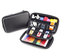 flash mp5 - 2 quot Bag Case for External Hard Drive Disk USB pen Flash drive Electronics Cable Organizer Bag Camera Mp5 Portable HDD Storage Box
