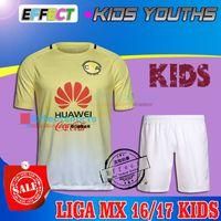 america boys - 2017 LIGA MX Mexico Club America KIDS Soccer Jerseys Home Away O PERALTA SAMBUEZA UNAM PUMAS Chivas Boys Youth Kit football Shirts