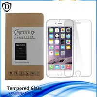 anti fingerprint coating - 0 MM Tempered Glass For New Iphone s s plus Screen Protetor film Anti fingerprint coating with box