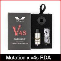 Precio de Tanque de mutación-El tanque regenerable del goteo de Atomizer del control de flujo de la indulgencia del clon de la mutación X V4S RDA Fit 510 Mods mecánicos DHL libera el envío