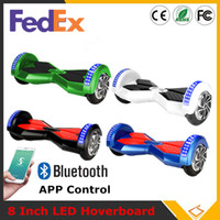 adult power wheels - Super Power Phone App Balance Wheel inch Smart Hoverboard Bluetooth Music Speaker Electric With LED Light Two Wheels Fedex