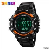 Wholesale skmei wrist watch heart rate monitor sport wristwatch Members are polite Integral big run multi function