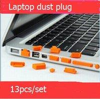 Wholesale 13pcs set Silicone PC laptop dustproof plug usb dust plug Anti Dust Plug Cover Set Stopper