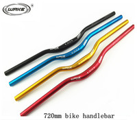 Wholesale WAKE Aluminum Alloy Bike longer handlebars MTB bike handlebar and Road Bike handlebar Bicycle MM MM Four color