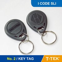 Wholesale NO RFID Key Tag RFID Key Fob for access control RFID Tag RFID Token With I CODE SLI Chip