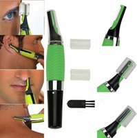 Wholesale All In One Nose Eae Neck Nasal Eyebrow Sideburns Hair Trimmer Clipper Cleaner Shaver Removal Combs Together