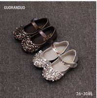 b fund - Han edition of new fund of autumn children princess shoes girls shoes children doug rivet beaded shoes